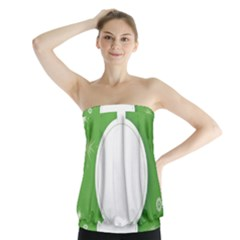 Christmas Bauble Ball Strapless Top