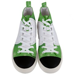 Christmas Bauble Ball Men s Mid Top Canvas Sneakers