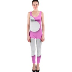 Clouds Sky Pink Comic Background Onepiece Catsuit