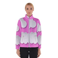 Clouds Sky Pink Comic Background Winterwear