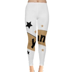 Thank You Lettering Thank You Ornament Banner Leggings