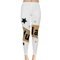 Einladung Lettering Invitation Banner Leggings