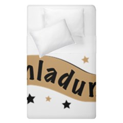 Einladung Lettering Invitation Banner Duvet Cover Double Side (single Size)