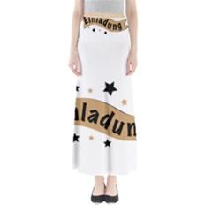 Einladung Lettering Invitation Banner Full Length Maxi Skirt