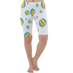 Balloon Ball District Colorful Cropped Leggings