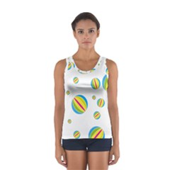 Balloon Ball District Colorful Sport Tank Top