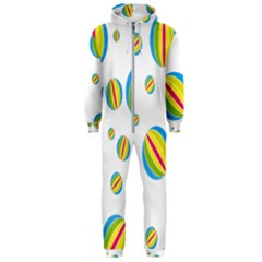 Balloon Ball District Colorful Hooded Jumpsuit (men)
