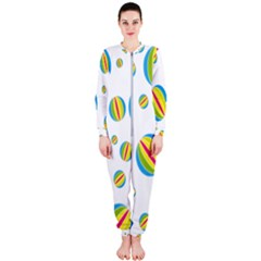 Balloon Ball District Colorful Onepiece Jumpsuit (ladies)