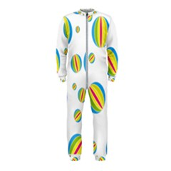 Balloon Ball District Colorful Onepiece Jumpsuit (kids)