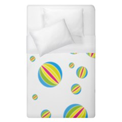 Balloon Ball District Colorful Duvet Cover (single Size)