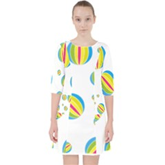 Balloon Ball District Colorful Pocket Dress