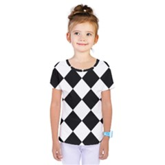 Grid Domino Bank And Black Kids  One Piece Tee