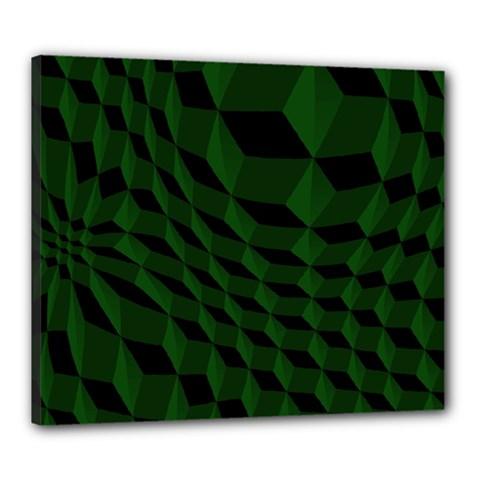 Pattern Dark Texture Background Canvas 24  X 20