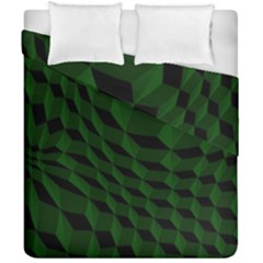 Pattern Dark Texture Background Duvet Cover Double Side (california King Size)