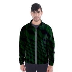 Pattern Dark Texture Background Wind Breaker (men)