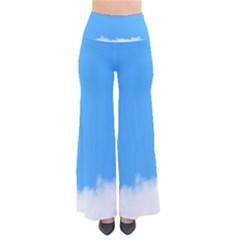 Sky Blue Blue Sky Clouds Day Pants