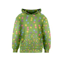 Balloon Grass Party Green Purple Kids  Pullover Hoodie