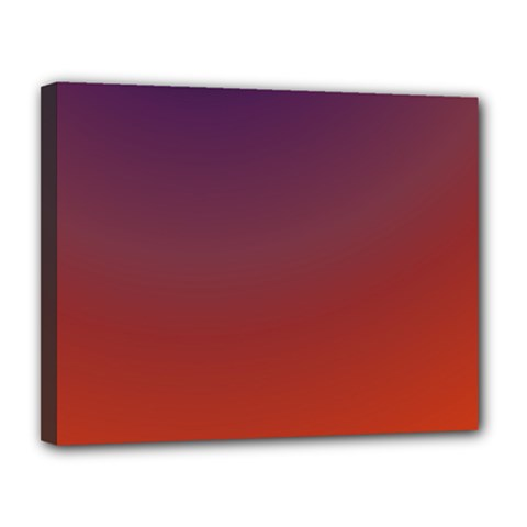 Course Colorful Pattern Abstract Canvas 14  X 11