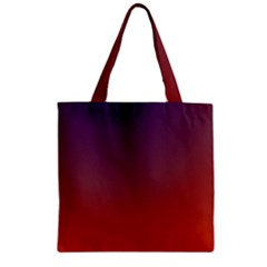 Course Colorful Pattern Abstract Zipper Grocery Tote Bag