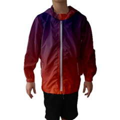 Course Colorful Pattern Abstract Hooded Wind Breaker (kids)