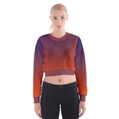 Course Colorful Pattern Abstract Cropped Sweatshirt