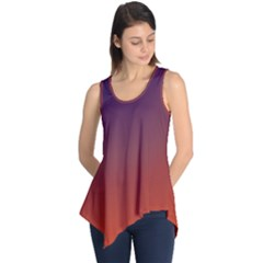 Course Colorful Pattern Abstract Sleeveless Tunic