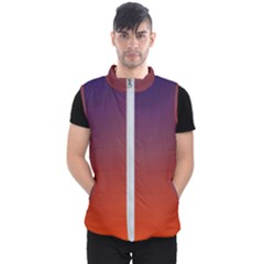 Course Colorful Pattern Abstract Men s Puffer Vest