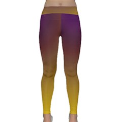 Course Colorful Pattern Abstract Classic Yoga Leggings