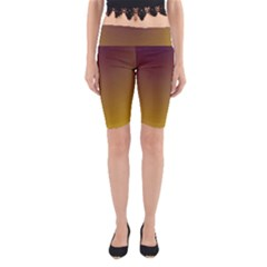 Course Colorful Pattern Abstract Yoga Cropped Leggings
