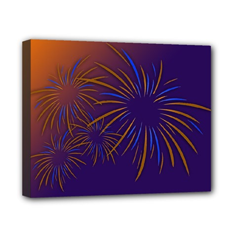 Sylvester New Year S Day Year Party Canvas 10  X 8