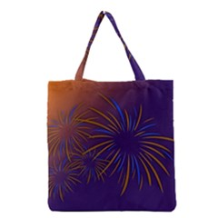 Sylvester New Year S Day Year Party Grocery Tote Bag