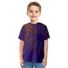 Sylvester New Year S Day Year Party Kids  Sport Mesh Tee