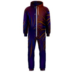 Sylvester New Year S Day Year Party Hooded Jumpsuit (men)