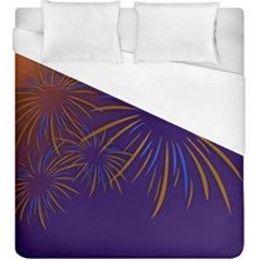 Sylvester New Year S Day Year Party Duvet Cover (king Size)