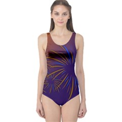 Sylvester New Year S Day Year Party One Piece Swimsuit
