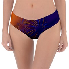 Sylvester New Year S Day Year Party Reversible Classic Bikini Bottoms