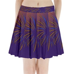 Sylvester New Year S Day Year Party Pleated Mini Skirt