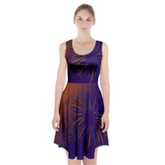 Sylvester New Year S Day Year Party Racerback Midi Dress