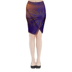 Sylvester New Year S Day Year Party Midi Wrap Pencil Skirt