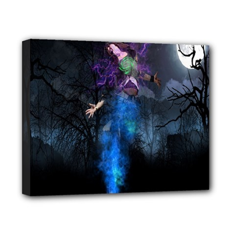 Magical Fantasy Wild Darkness Mist Canvas 10  X 8
