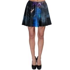 Magical Fantasy Wild Darkness Mist Skater Skirt