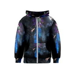 Magical Fantasy Wild Darkness Mist Kids  Zipper Hoodie