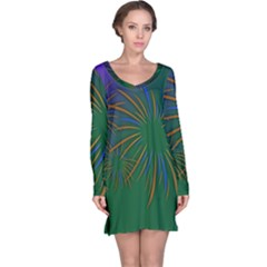 Sylvester New Year S Day Year Party Long Sleeve Nightdress