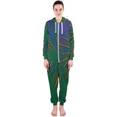 Sylvester New Year S Day Year Party Hooded Jumpsuit (ladies)
