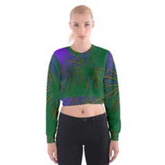 Sylvester New Year S Day Year Party Cropped Sweatshirt