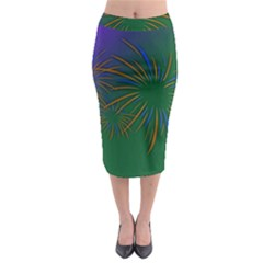 Sylvester New Year S Day Year Party Midi Pencil Skirt