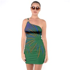 Sylvester New Year S Day Year Party One Soulder Bodycon Dress