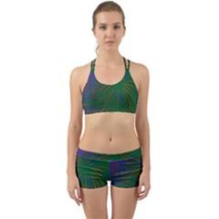 Sylvester New Year S Day Year Party Back Web Sports Bra Set
