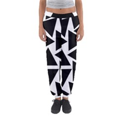 Template Black Triangle Women s Jogger Sweatpants