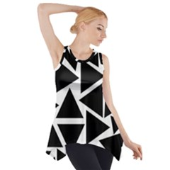 Template Black Triangle Side Drop Tank Tunic